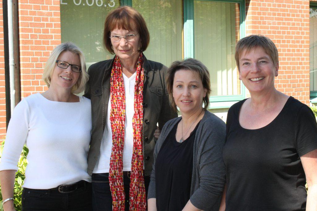 Nadine Schirmacher, Karin Spreckelsen, Anke Mekwinski, Elvira Schmitt-Graewe